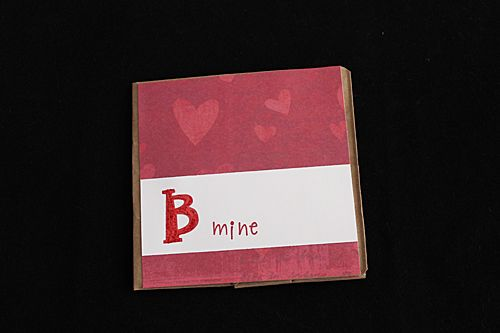valentine's day card bags