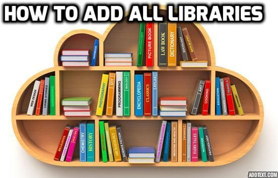 Multiple Libraries,AOM,AOM with QTP,How to add Multiple Libraries