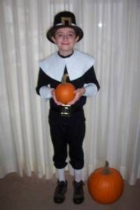 pilgrim costume for boys