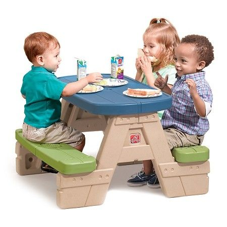 Step2® Sit & Play Junior Picnic Table with Umbrella : Target