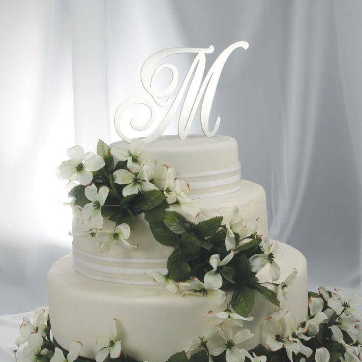 renaissance font monogram: Renaissance Fonts, Metals Cakes, Metals Monograms, Brushes Metals, Custom Cakes, Initials Cakes Toppers, Fonts Monograms, Cake Toppers, Monograms Cakes Toppers