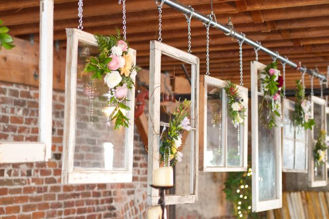 Wall Decoration For Wedding Ideas : Rustic shabby chic wedding party ideas