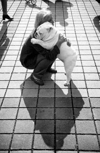 DOLLY ZEN Never wait until tomorrow to hug someone you could hug today, because when you give one, you get one right back your way ~ Author Unknown ❤ Dolly