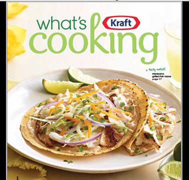 FREE Kraft's What's Cooking Magazine Summer 2014
