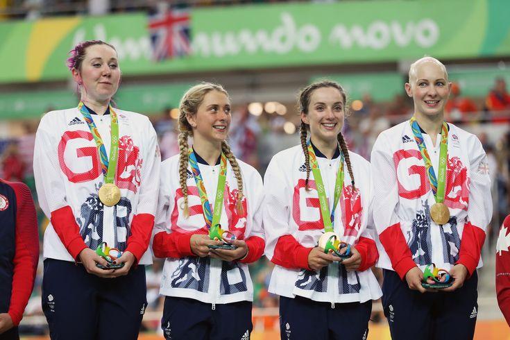 Team pursuit gold medals