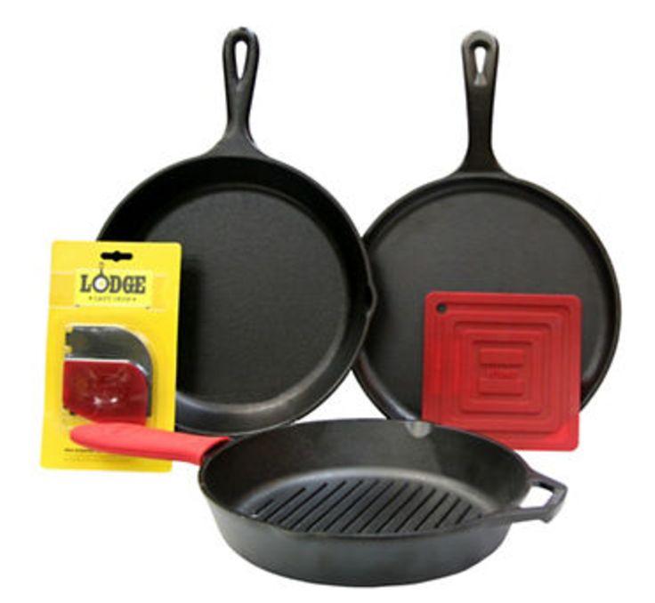Hudsons Bay Canada Deal: Save $60 Off LODGE 6-Piece Cast Iron Cookware Set http://www.lavahotdeals.com/ca/cheap/hudsons-bay-canada-deal-save-60-lodge-6/190587?utm_source=pinterest&utm_medium=rss&utm_campaign=at_lavahotdeals