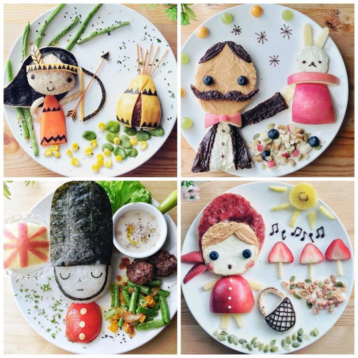 Wow! Look at Samantha Lee's lunch creations. More like art.