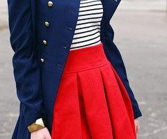 Fancy sailor outfit