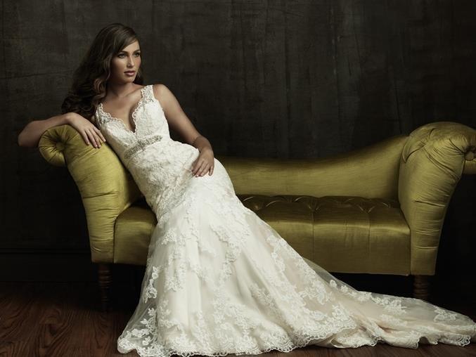 Продам свадебное платье allure bridals 8634
