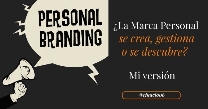 Claudio Inacio in Marketing y Producto, Marketing Online, Redes Sociales  2 h ago · 1 min read ·  +300  ¿La Marca Personal se crea #BeBee #Brand