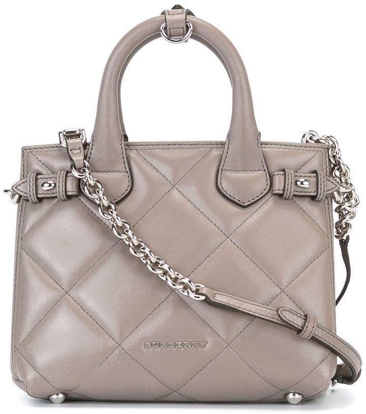 Burberry Gesteppte Handtasche
