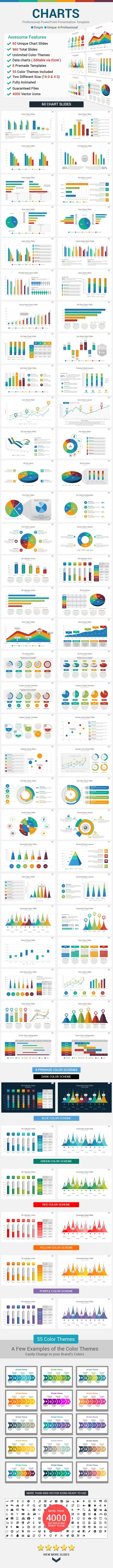 Data Charts PowerPoint Presentation Template — Powerpoint PPTX #stats #creative • Available here → https://graphicriver.net/item/data-charts-powerpoint-presentation-template/12522804?ref=pxcr