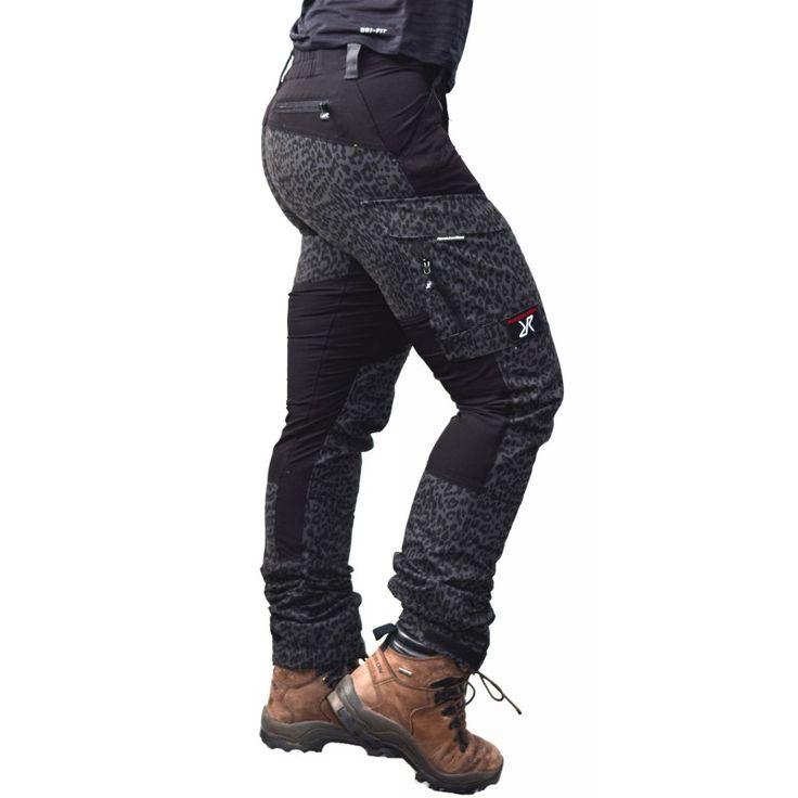 Friluftsbyxor GPx Pants (Grey Leo/Jetblack)