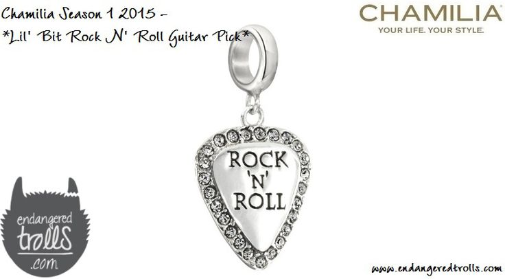 Chamilia Lil' Bit Rock N' Roll Guitar Pick