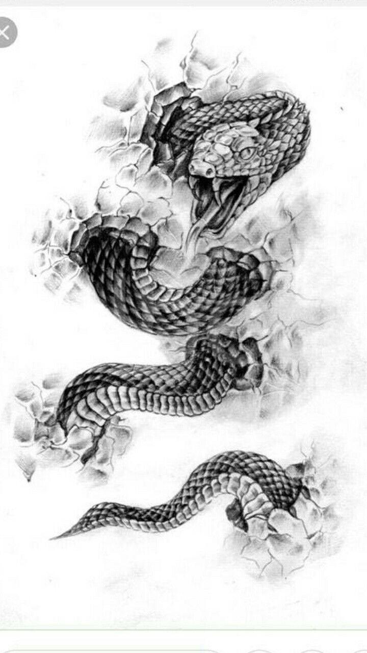 Untitled Japanische Schlange Tattoo Kobra 4