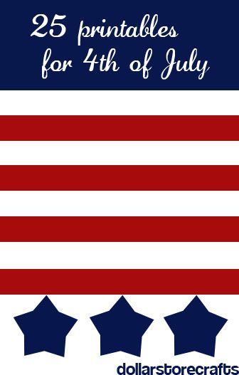 25 4th of july printables: Idea, Dollar Stores Crafts, 25 Printable, Awesome Link, July 4Th, 25 4Th Of July Prints, Free Printable, Awesome 4Th, July Printable