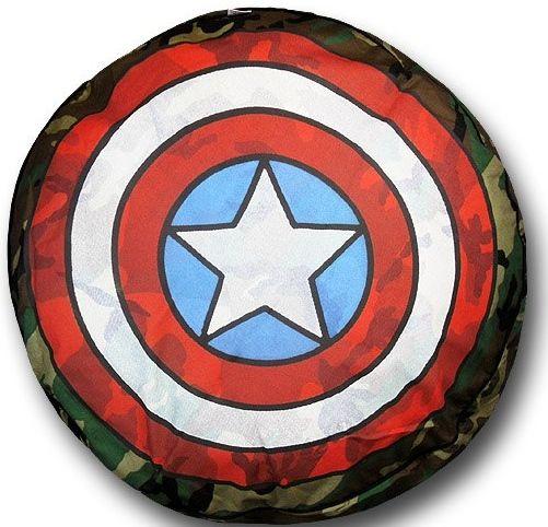 Captain America Shield Dog Bed