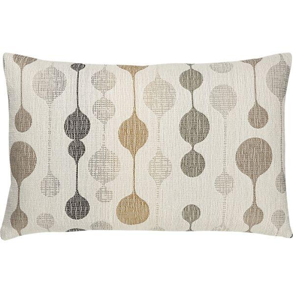 Quincy 20 X13 Ecru Pillow In Decorative Pillows Crate