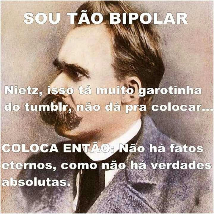 Sou bipolar.