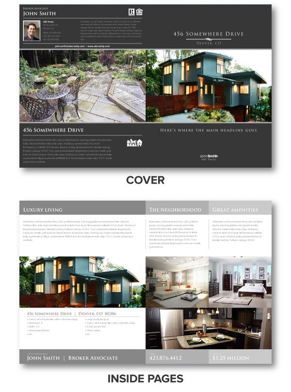 Breakthrough Broker Helps Real Estate Agents With Free Marketing Templates Instructional Tools Current News Brochure IdeasBrochure DesignFlyer
