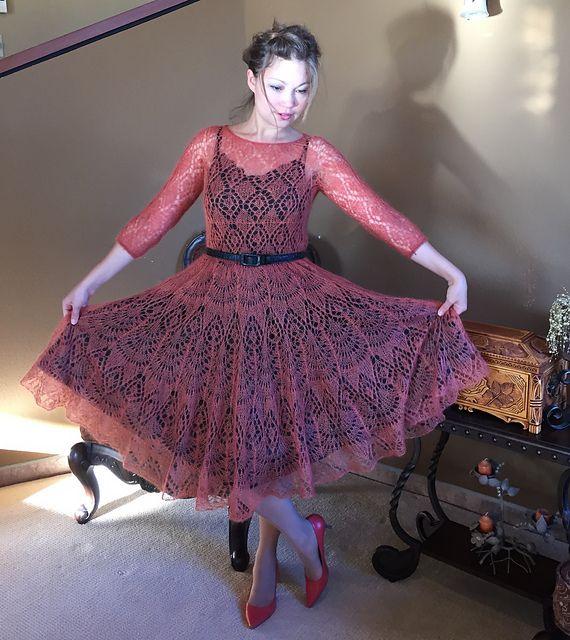 Ravelry: tatty152's Freya Mohair dress