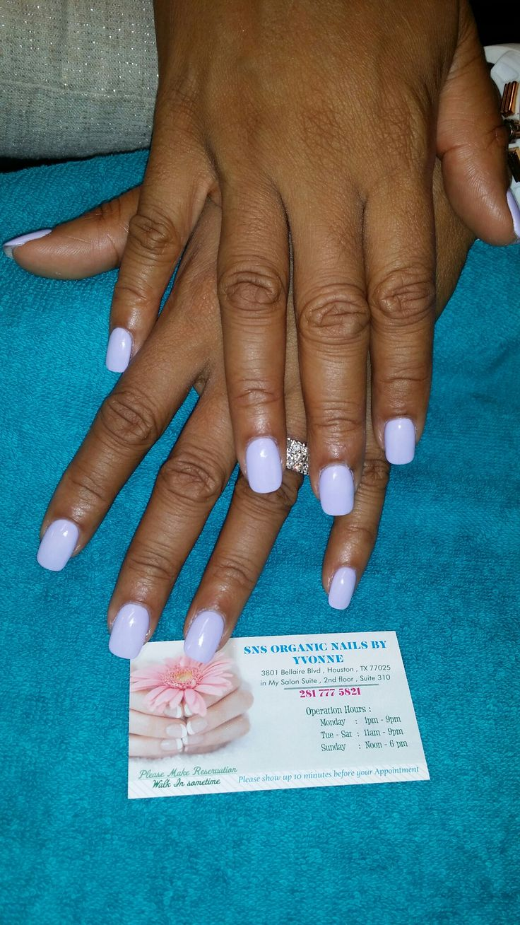 Sns Organic Nails by Yvonne at  3901 Bellaire Blvd Houston, TX 77025  Please text 281 777 5821 for appointment.