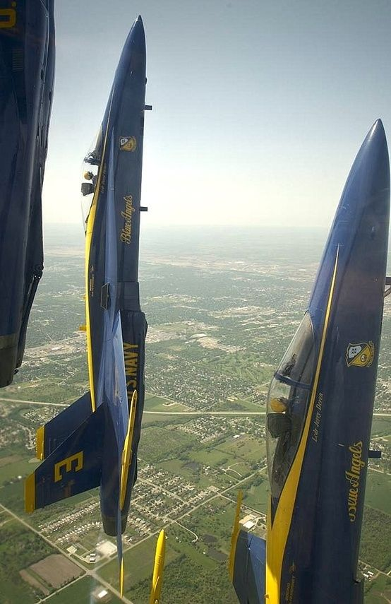 The United States Navy.... The Blue Angels are amazing!!