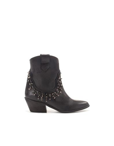 Zara cowboy ankle boot