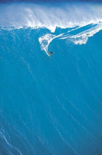 Sonho em ver uma onda gigante