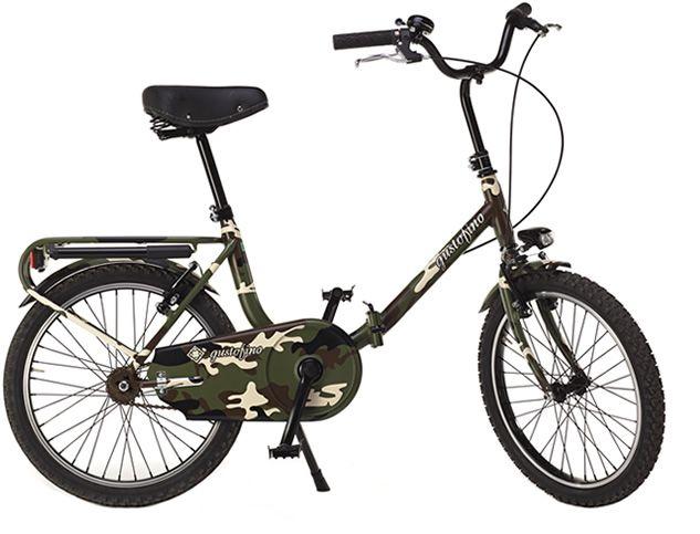 Woodland Bicicletta Graziella Pieghevole da Uomo