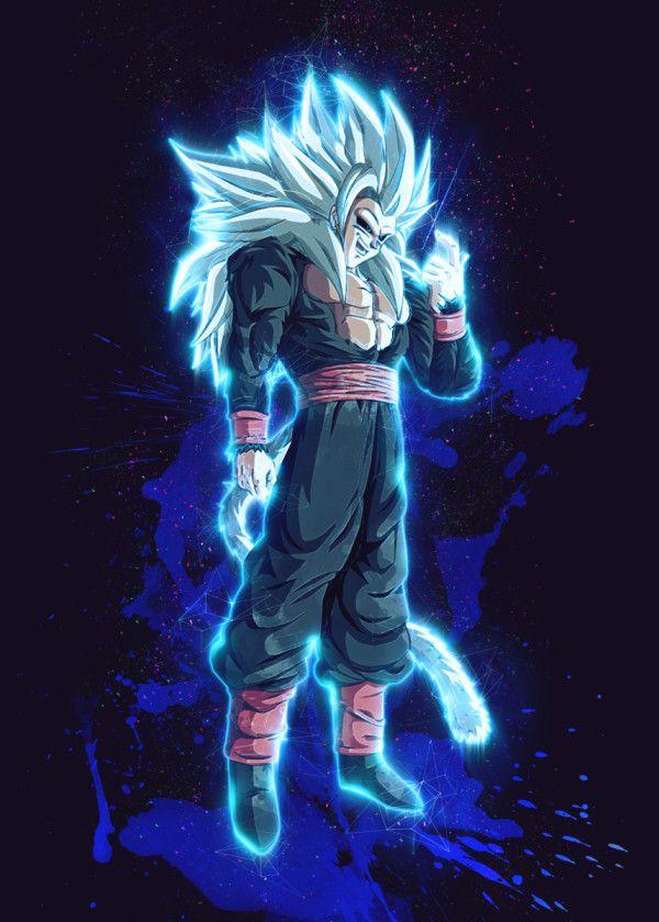 Goku Dragonball Z Renegade Poster By Gab Fernando Displate Dragon Ball Super Artwork Anime Dragon Ball Super Dragon Ball Super Wallpapers