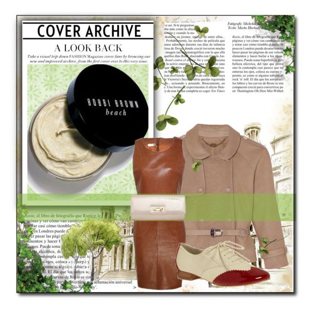 """leather jacket set"" by sarka-nin550 ❤ liked on Polyvore featuring Bobbi Brown Cosmetics, Mulberry, Kaliko, Miss Selfridge and Whiteley"
