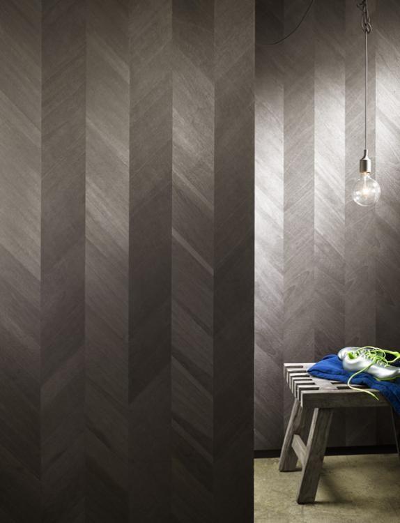 maya romanoff ajiro chevron wood veneer wallcoverings