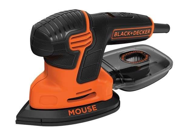 Black And Decker Mouse Detail Sander 120w 240V - power tools - sanders - BLACK AND DECKER KA2000 Mouse Detail Sander 120w 240v - Timber, Tool and Hardware Merchants established in 1933