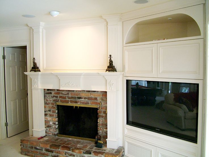 Tv beside corner fireplace fire place pinterest tvs Fireplace ideas no fire