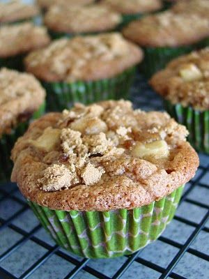 Apple Cinnamon Muffins-these are really good!