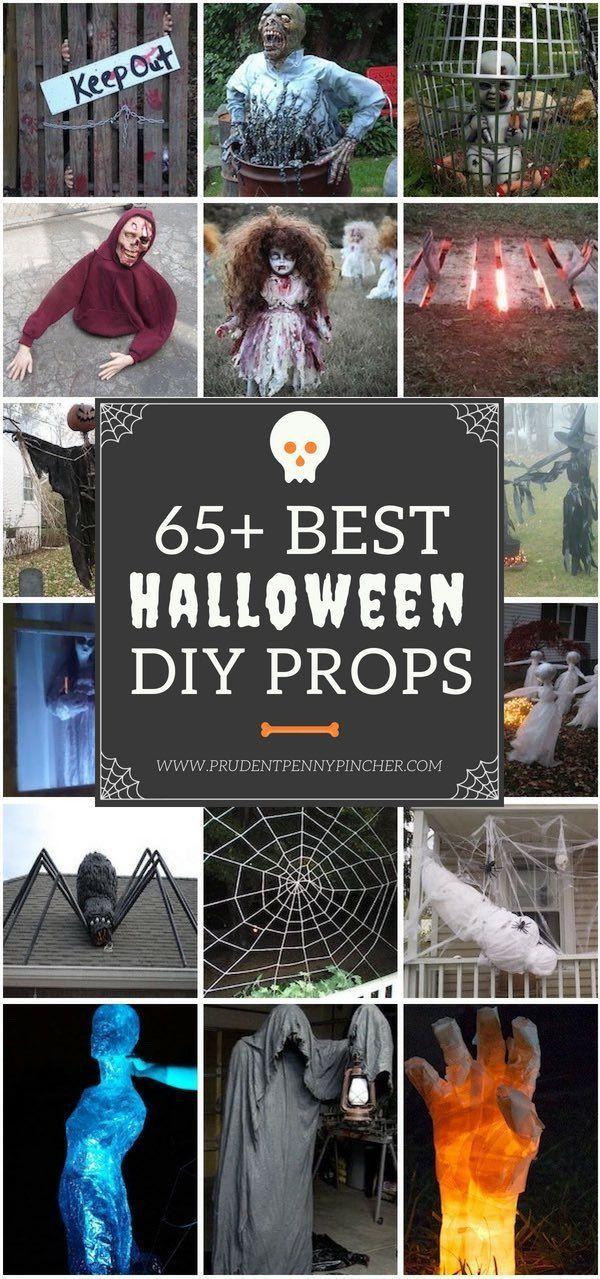 65 Best DIY Halloween Props - 65 Best DIY Outdoor Halloween Decor - diy outdoor halloween props