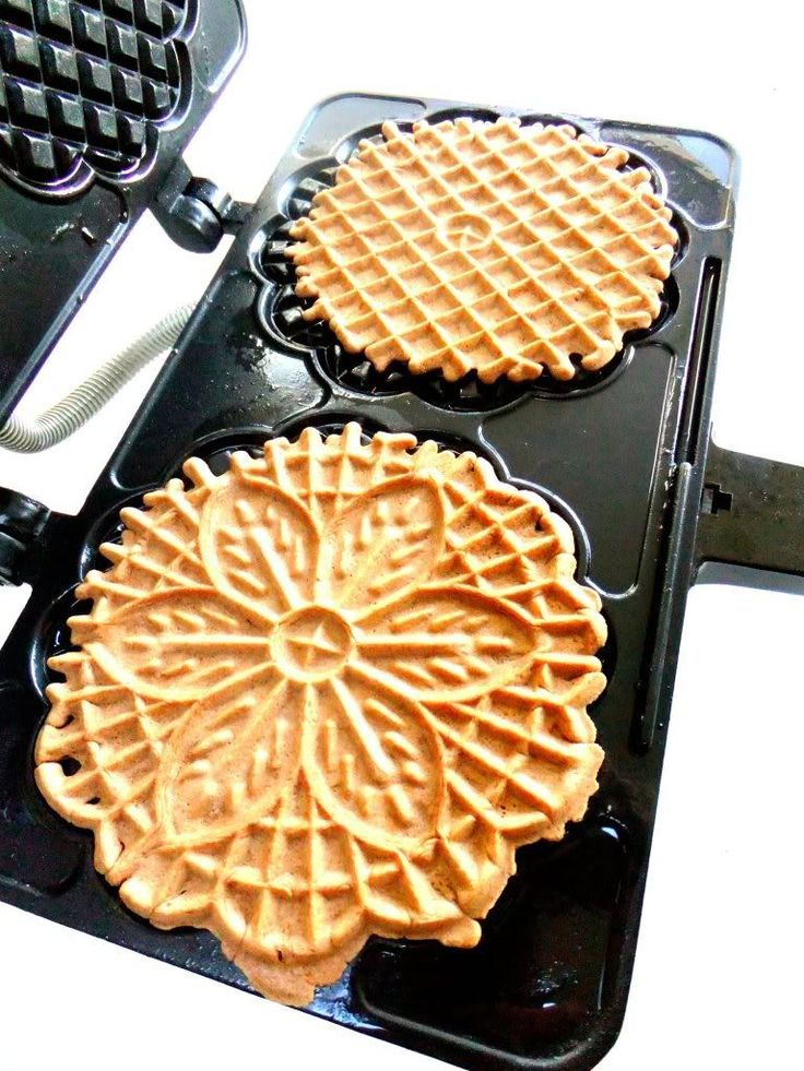 Pizzelle Recipe (Proud Italian Cook)