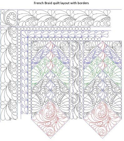 157 best Longarm Quilting images on Pinterest Longarm quilting - loose leaf template