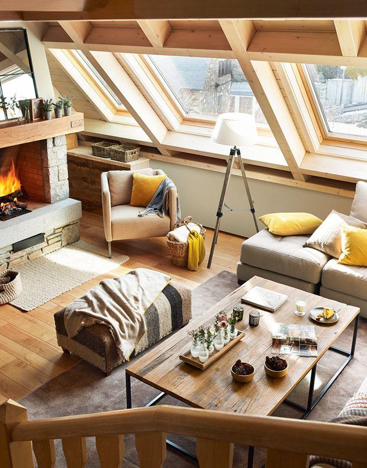 Jurnal de design interior: Amenajare călduroasă într-o cabană din Spania