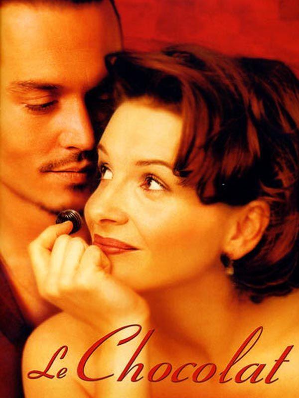 Le Chocolat est un film de Lasse Hallström avec Lena Olin, Juliette Binoche. Synopsis : Durant l'hiver 1959, Vianne Rocher s'installe avec Anouk, sa petite fille, à Lansquenet, une petite bourgade française. En quelques jours, elle ouvre