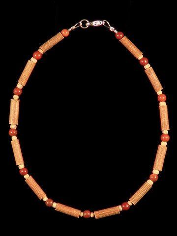 Teething Hazelwood Necklace with Malachite beads