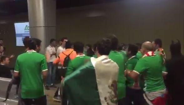 """<p><br /> Ciudad de México.- En la Eurocopa 2016, Islandia sorprendió al mundo con su """"festejo Vikingo"""". En Rusia, un grupo"""