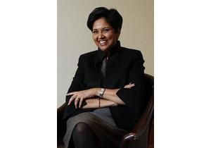 Indra Nooyi - CEO of PepsiCo and very candid in describing work life challenges.