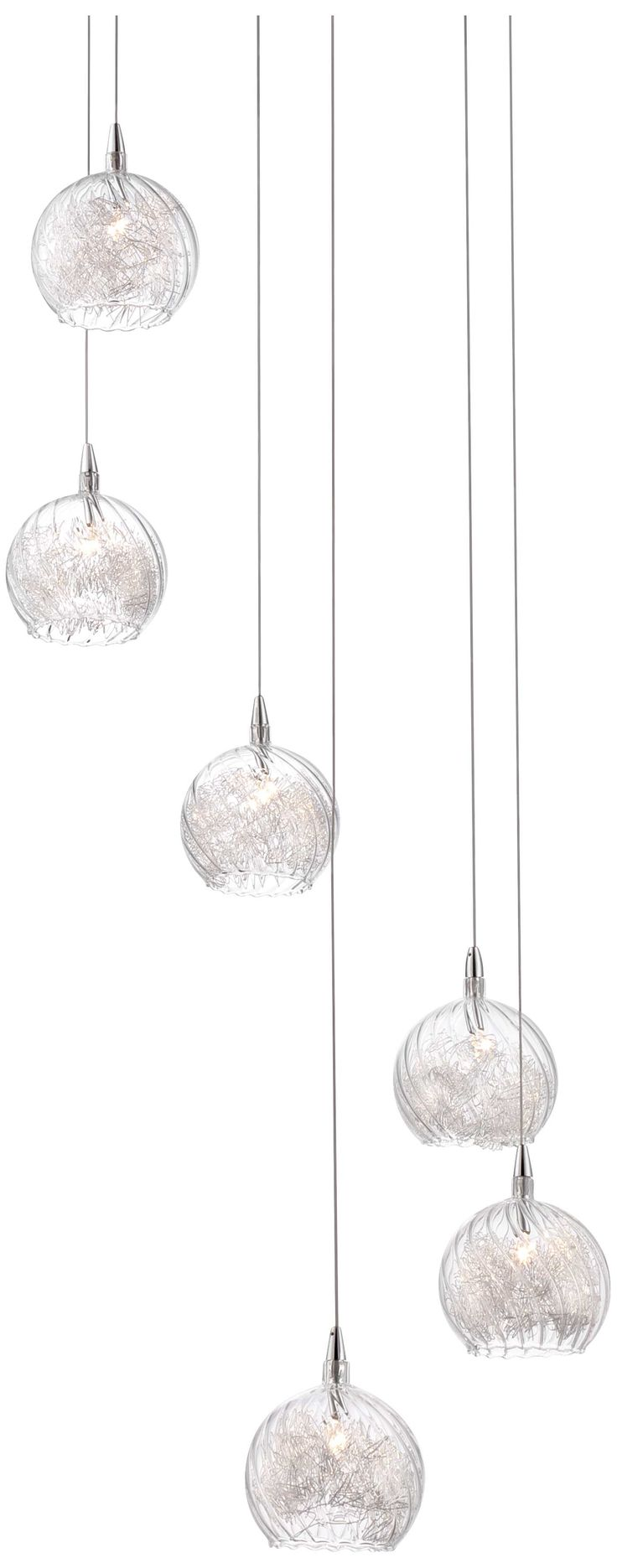 Exceptional Possini Euro Encircled Crystal 48 1/4 Design Inspirations