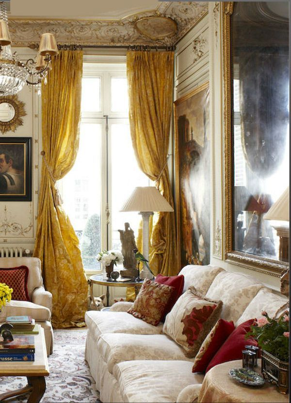 Paris Pied 224 Terre Living Room Details I Like