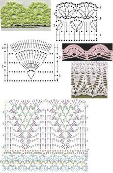 free pattern - Crochet border chart from jaluchik on LiveInternet.ru