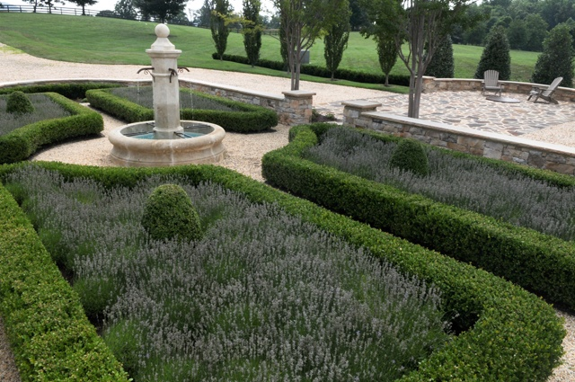 French formal garden lavender lavender garden house for French garden design