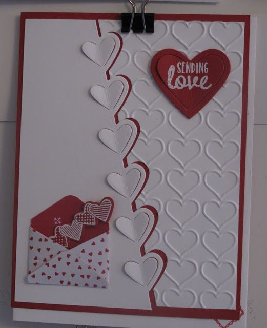 in my craft room stamping with glenda craft room stampers team swap cards - Valentine Cards Pinterest