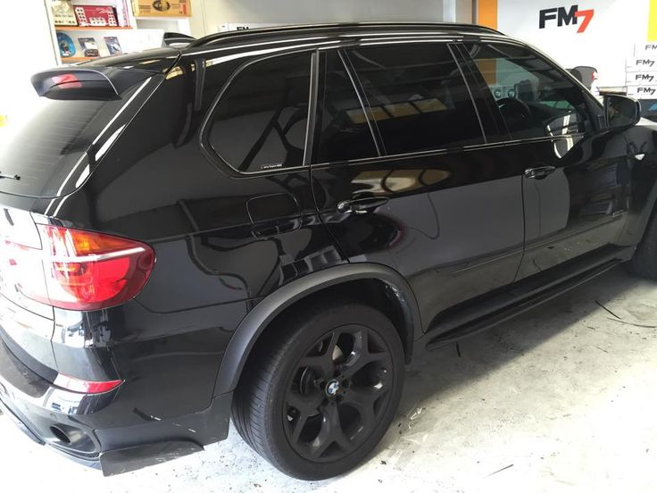 #X5 with #Topclass 35% & 5& #Window #Tinting